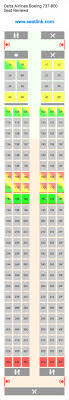 Delta 121 Seating Chart Delta Airlines Boeing 737 800 Seating Chart Updated