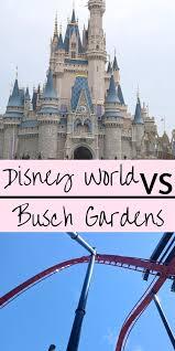 disney world vs busch gardens passes