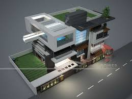 multi story contemporary 3d australian house design