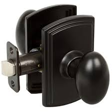 delaney italian collection canova black hall closet door knob