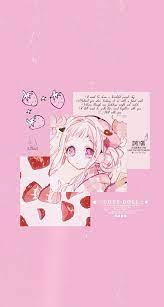 Pink wallpaper anime ...