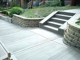 how much does it cost to cement a patio
