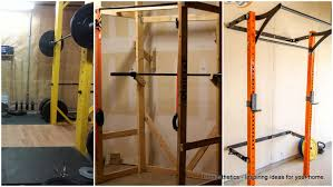 13 awesome homemade squat rack ideas and tutorials to consider