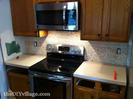 Faux Stone Kitchen Backsplash How To Install A Backsplashes Are A Good Idea Apartment