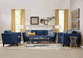 decorating with blue living room