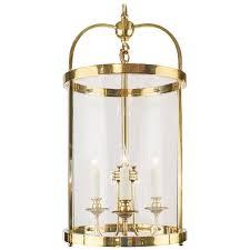 french vintage oversized brass lantern for