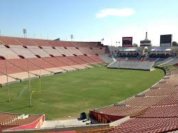Los Angeles Memorial Coliseum Section 111 Row 33 Seat 30
