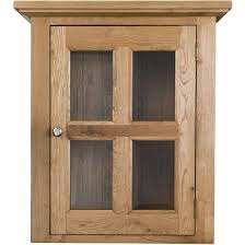 orchard oak 1 glass door overhead