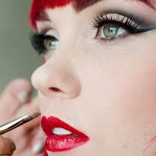 vine wedding makeup