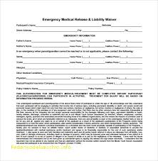 Medical Liability Release
