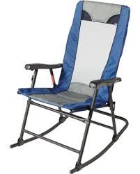 blue rocking chair. Quest Camp Rocking Chair, Blue Chair