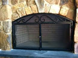 victorian fireplace screen antique