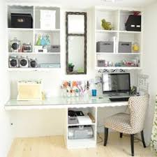Office diy ideas Practical Officecraft Room cleverlyinspired 6 Home Organization Hacks Organizing Ideas Pinterest 97 Best Diy Office Space Inspiration Images In 2019 Craft Room