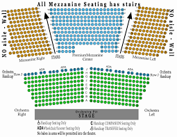 Wilson Theater Seating Chart 65 Timeless New Theatre Seating Chart