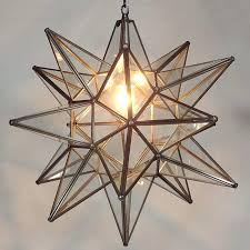 star pendant light star pendant light clear glass bronze frame brass star pendant light uk star pendant light