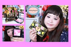 new anna sui lipstick m eye color palette rose cheek color tryit tuesday