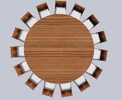 Dining Table Top View Interior Design Top View Round Table and