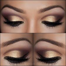 elegantly soft gold smokey eye makeup լ ӭ t ᗰ a Ƙ ɝ ੫ ᖘ