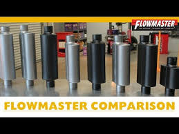Flowmaster Muffler Comparison W Examples How To Choose A