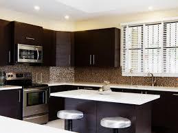 Modern Backsplash For Kitchen Kitchen Contemporary Kitchen Backsplash Ideas With Dark Cabinets