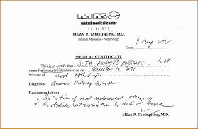 Medical Certificate Template Medical Certificate Template Oloschurchtp 23