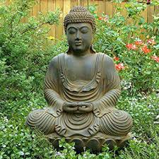large garden buddha statue tushargupta me within design 14
