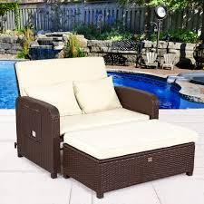 Bayou breeze lampert rattan wicker patio chair with cushions wayfair