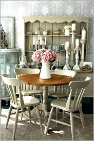 chic dining room sets shabby chic dining room table cool round country dining table shabby chic