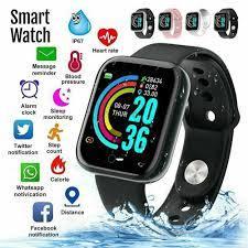 Y68 Đồng Hồ Thông Minh Smartwatch Nam Nữ Thể Thao Bluetooth Dây Đeo Thông  Minh Đo Nhịp Tim Huyết Áp Theo Dõi Vòng Tay Dành Cho Android Ios|Đồng hồ  thông minh