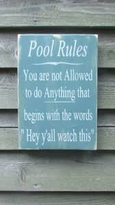 Swimming Pool Decor Signs Go Jump In The Pool Sign Summer Sign Lake By MoreThanWordsSigns 11