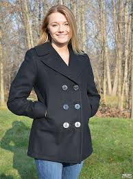 womens black peacoat the authentic home