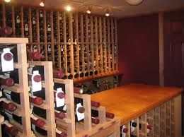 vint standard kit wooden wine racks are a perfect fit for any wine cellar space