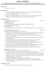 Sample Resume For 10 Years Experience Resume Sample For An Administrative Assistant Susan Ireland 21