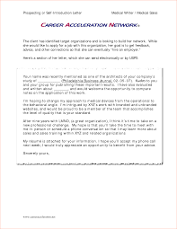 prospecting or self introduction letter cal writer cal s