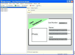 physical access manager appliance user guide release using the badge designer doctor id template name