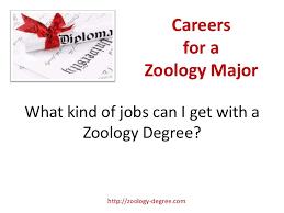 Zoology Degree Zoology Degree Careers