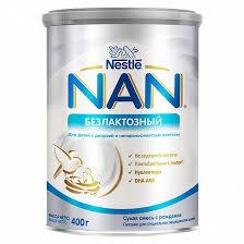 <b>Сухая смесь NAN</b> Безлактозный с рождения 400 г - купить в ...