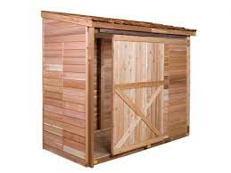 cedarshed s bayside lean to garden shed