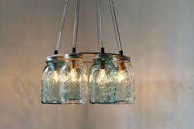 lighting canning jar light fixture astonishing to make ball chandelier diy fixtures vintage ceiling fan