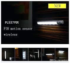 best motion sensor night light potable led closet lights wall lamp battery powered wireless cabinet with