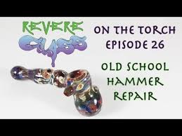 how to repair a glass pipe fix a blown hammer bubbler revere