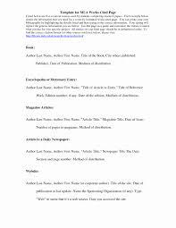 Mla Interview Citation New Format An Essay Oyle Kalakaari Resume