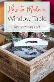 diy ideas with old windows old window table rustic farmhouse decor tutorials and projects