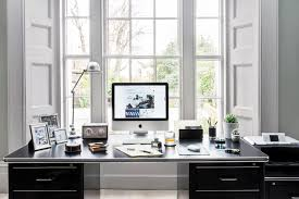 Home office designer Black Creating The Perfect Home Office Takes Careful Consideration When It Comes To Office Design You Need Ample Work Surfaces Lots Of Natural Light And Amara Expert Advice Home Office Design Tips From Interior Designers
