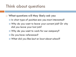 Careers Interviews Opening Question What Are Your Feelings Towards