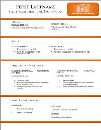 Free Resume Template For Word Unique Free Resume Templates 48