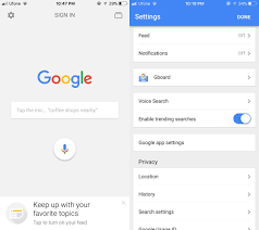 how to change the map app in google search on ios