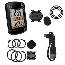Bryton Wheel Size Chart Bryton Rider 10c Gps Cycling Computer Cadence Sensor