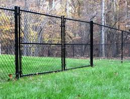 Black Chain Link Fence Pictures and Ideas