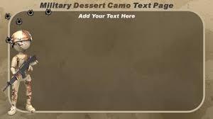 Military Camo A Powerpoint Template From Presentermedia Com